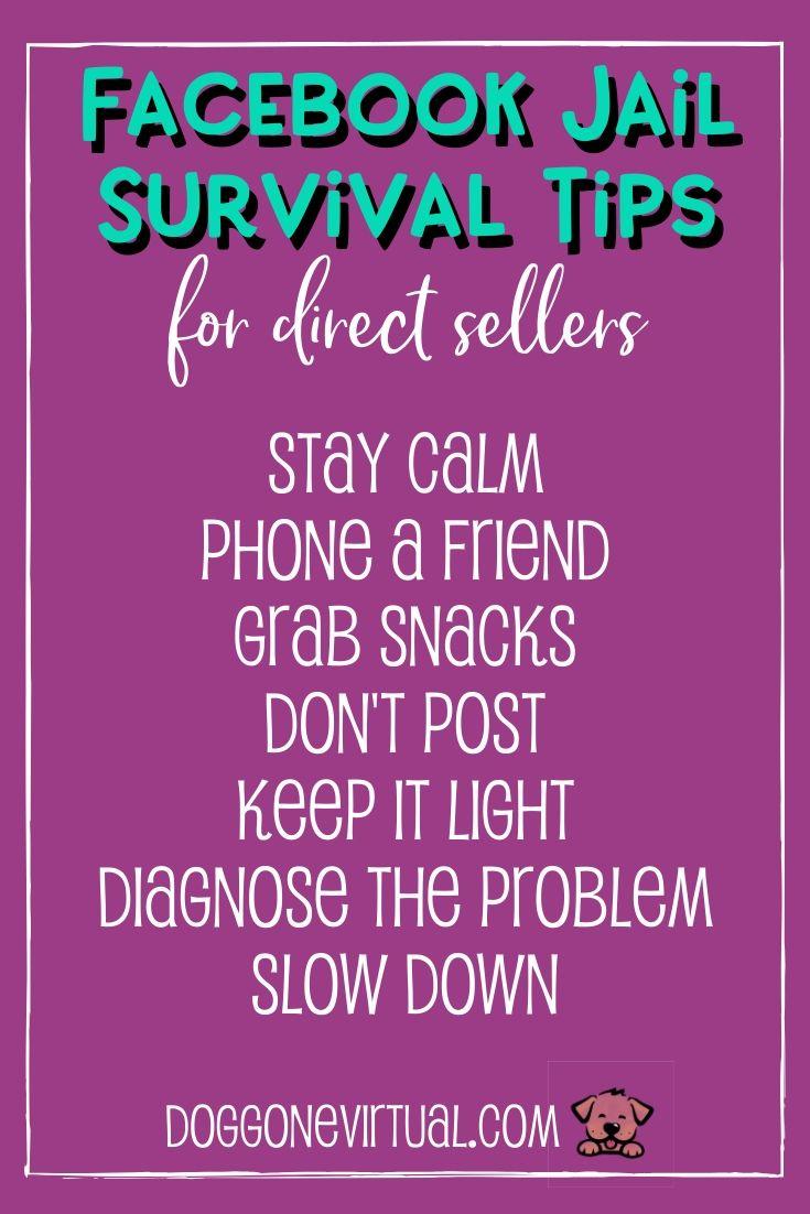 Facebook Jail Survival tips