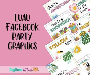 Luau Facebook Party Thumbnail