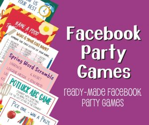 Facebook Party Games