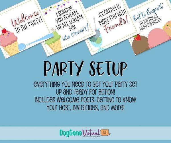 Ice Cream Facebook Party Setup Thumbnail