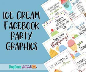 Ice Cream Facebook Party Thumbnail 1