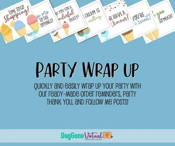 Ice Cream Facebook Party Wrap Up Thumbnail