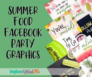 Summer Food Facebook Party Thumbnail 1