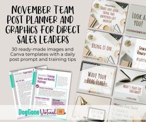 November Team Post Planner and Graphics Main Thumbnail